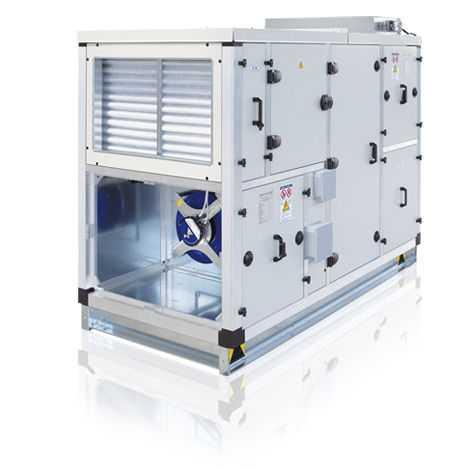 промышленная приточно вытяжная установка с подогревом воздуха RRU