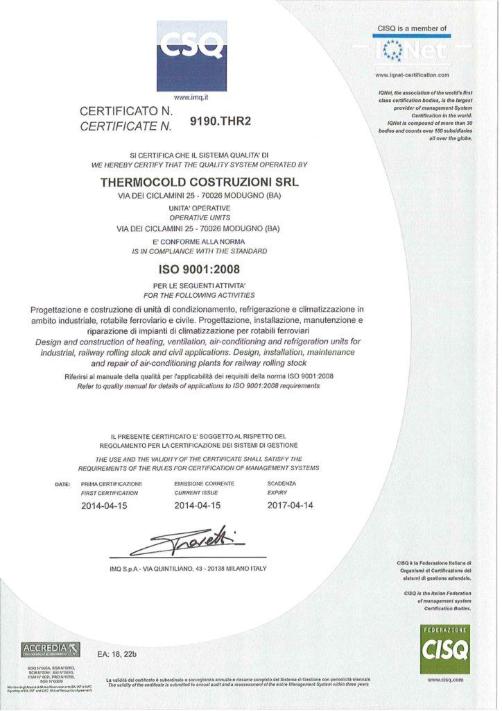 Certificato ISO 9001 2014-1