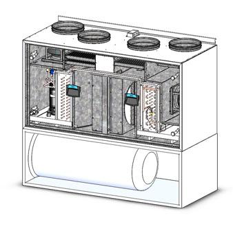 iqvent duo akva вентиляция с тепловым насосом
