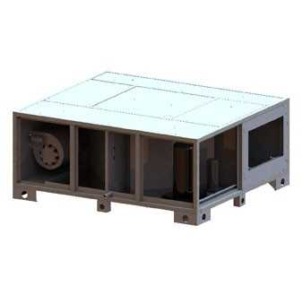 припливно витяжні установки з пластинчастим рекуператором Iqvent Vega