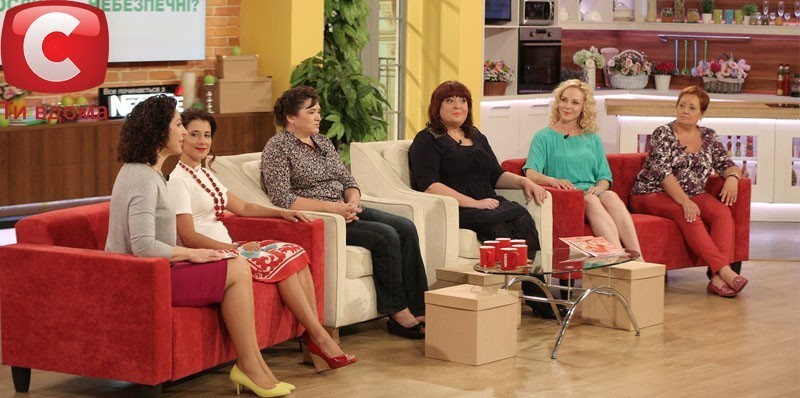 Знімальний майданчик телеканалу СТБ