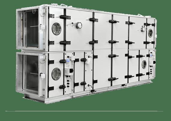 Модульная приточно-вытяжная установка berlinerluft Baureihe HygCond