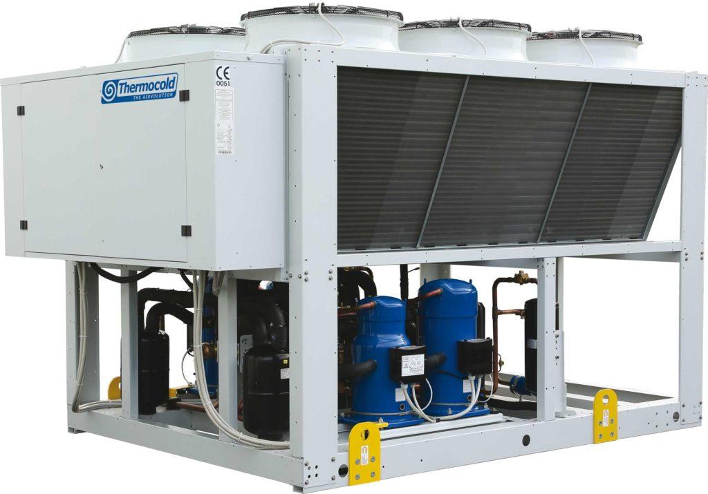 тепловой насос для отопления промышленных зданий Thermocold Prozone
