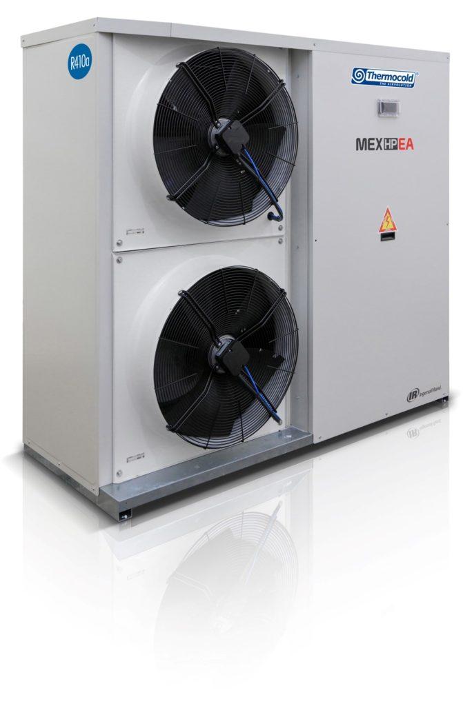 Тепловий насос повітря-вода MEX HP EA