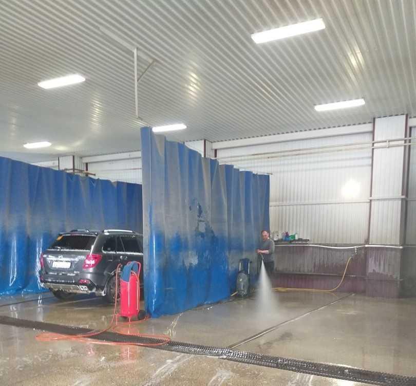 вентиляционное оборудование для автомойки