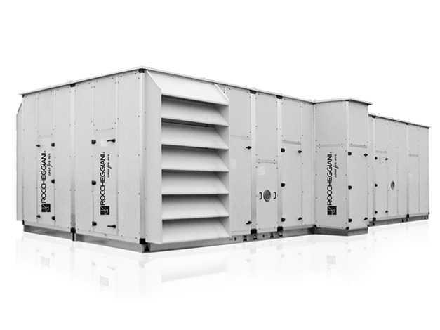 Воздухообрабатывающий агрегат roccheggiani cta