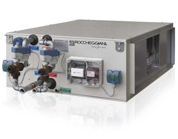 компактная вентиляционная установка roccheggiani tcl с рекуперацией тепла