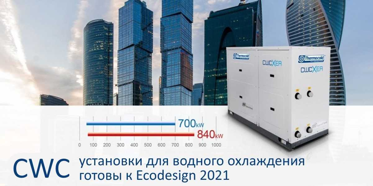 Новые чиллеры и тепловые насосы thermocold готовы к Ecodesign 2021